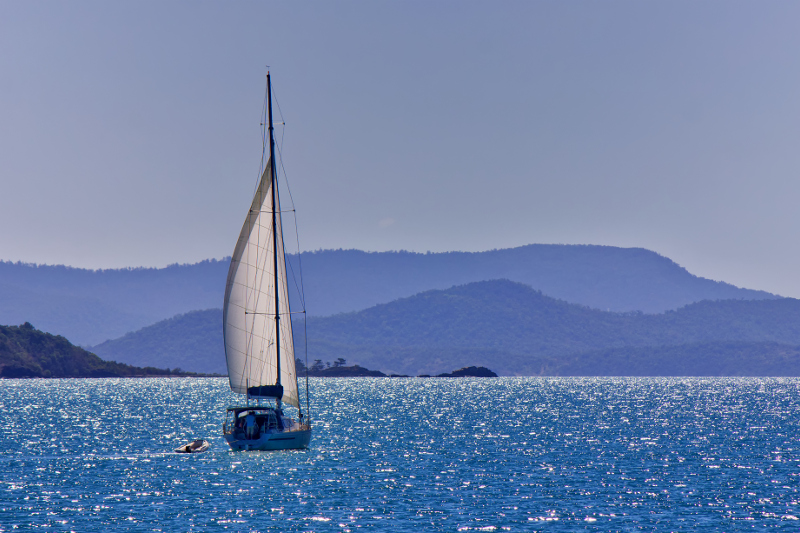 The Whitsundays in Queensland.