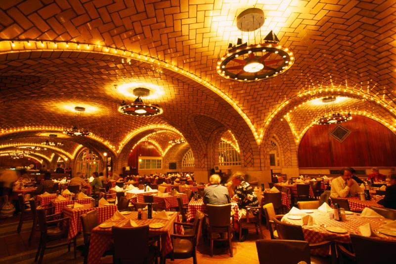 Grand Central Station bar interior.
