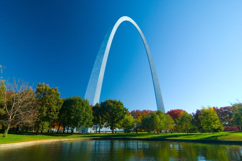 St Louis Arch.