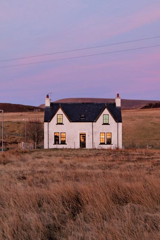 Cottage in Kilmuir, Scotland