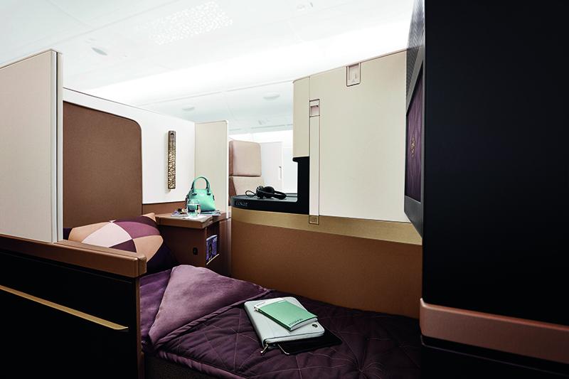 etihad business class cabin