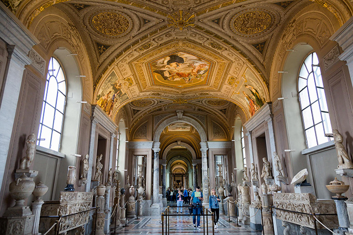 The Vatican museums rome