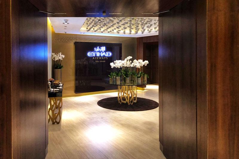 EY Lounge entrance, Abu Dhabi
