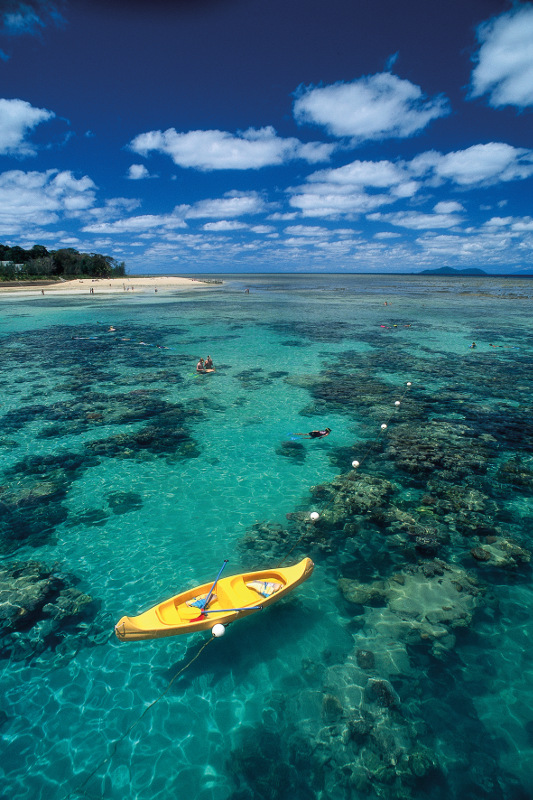 The reef in Northern Queensland