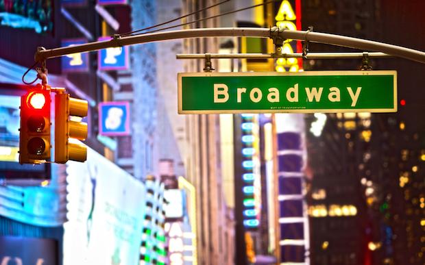 Broadway street sign NYC