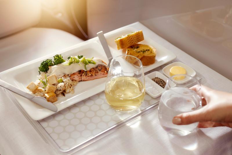 Air NZ Dinner Menu