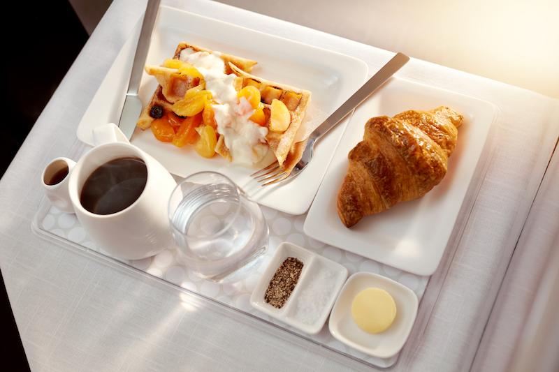 Air NZ Breakfast Menu