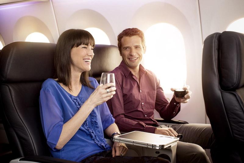 Air New Zealand's premium service