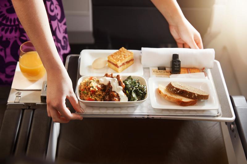 New Zealand's Premium Economy Dining Service