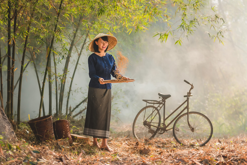 Thai rural woman