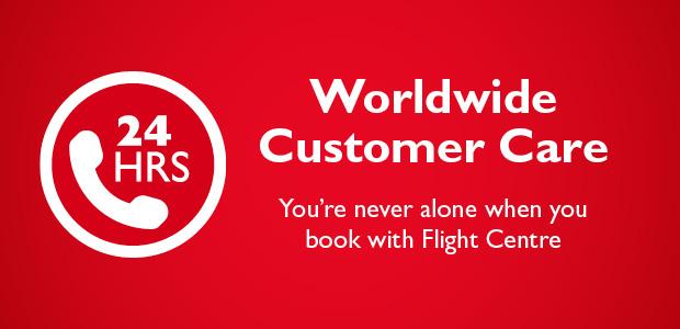 24/7 Worldwide Customer Care | Flight Centre