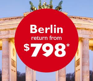 Berlin flight sale