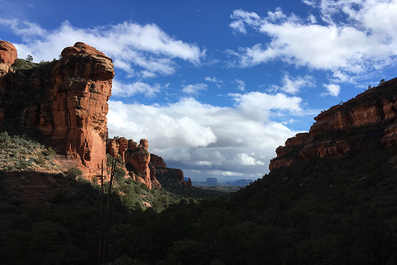 Hiking in Sedona, AZ