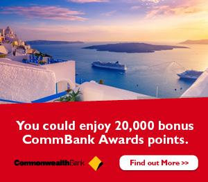 CommBank Awards points
