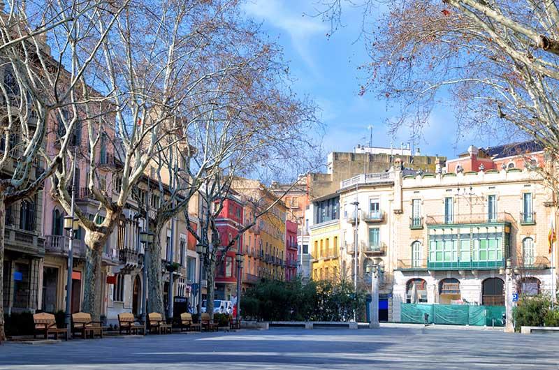 Figueres city spain