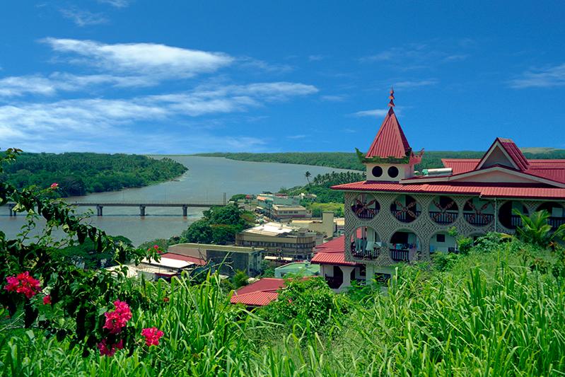 Sigatoka River and town