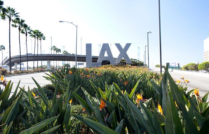 Exterior of LAX