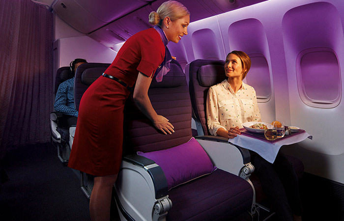 VA Premium Economy seats