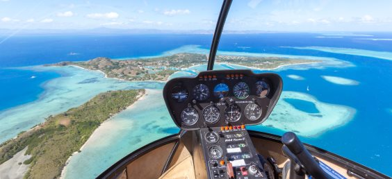 Flight to Fiji