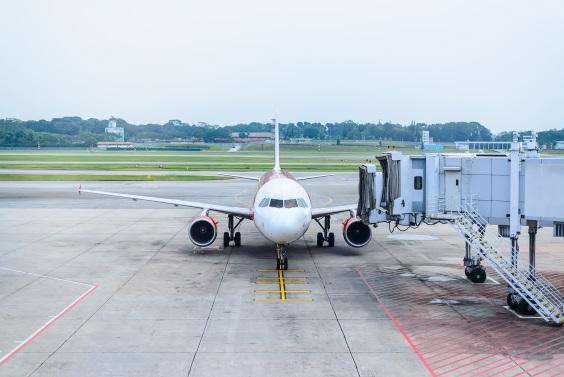 Landed Flight Melbourne to Singapore