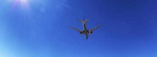 Flight to Penang underside view