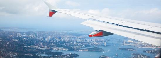 Darwin to Sydney Flight Aerial View