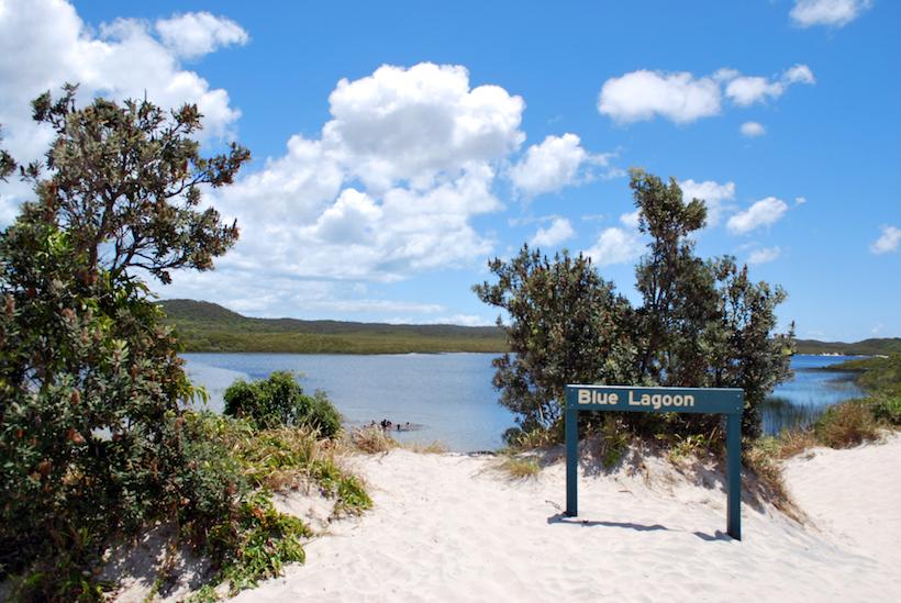 Blue Lagoon Moreton Island camping