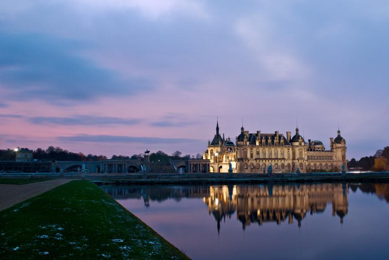 The Chateau de Chantilly, France