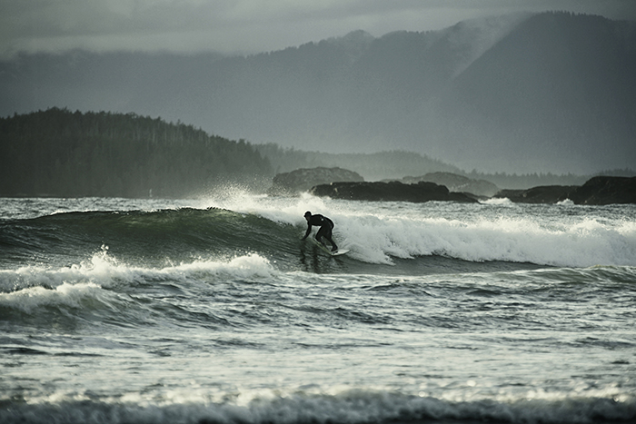 Surfing tofino vancouver island