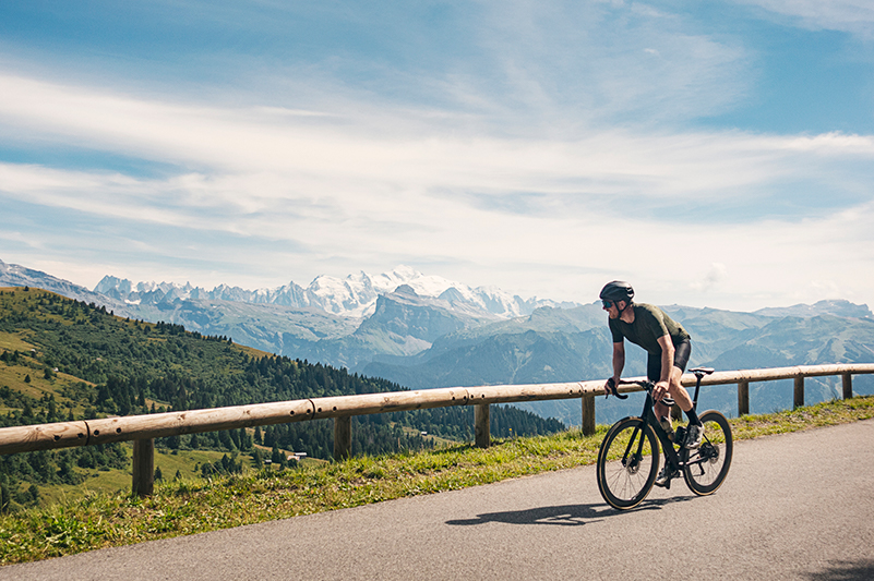Cycling the French alps