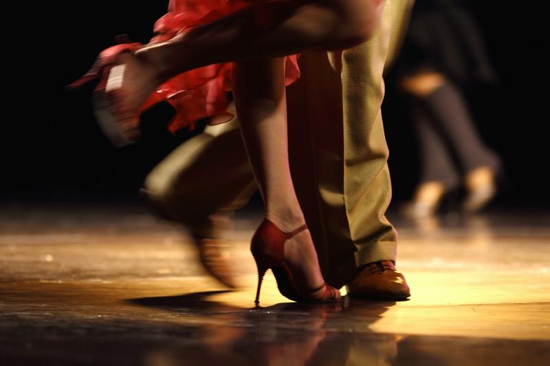Tango dancing Buenos Aires