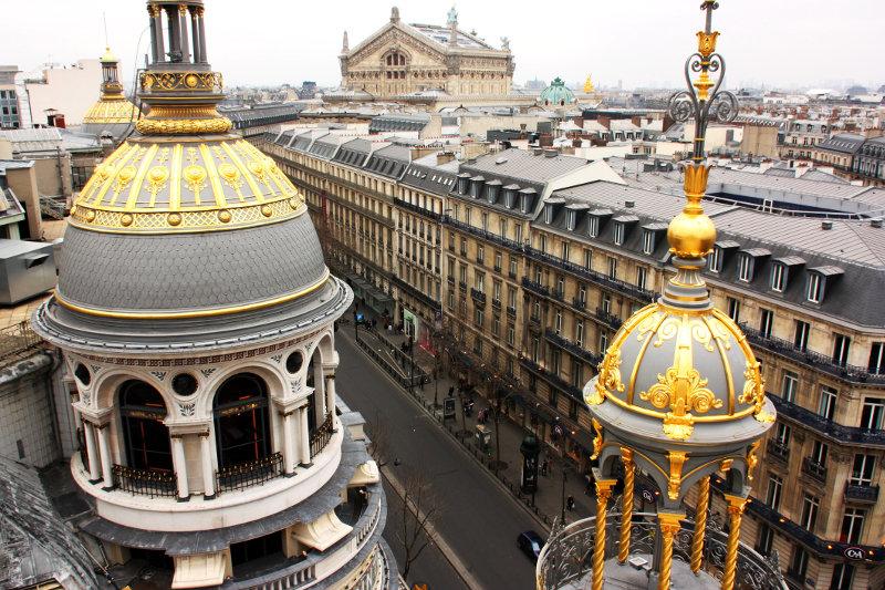 Paris Opera house and skyline