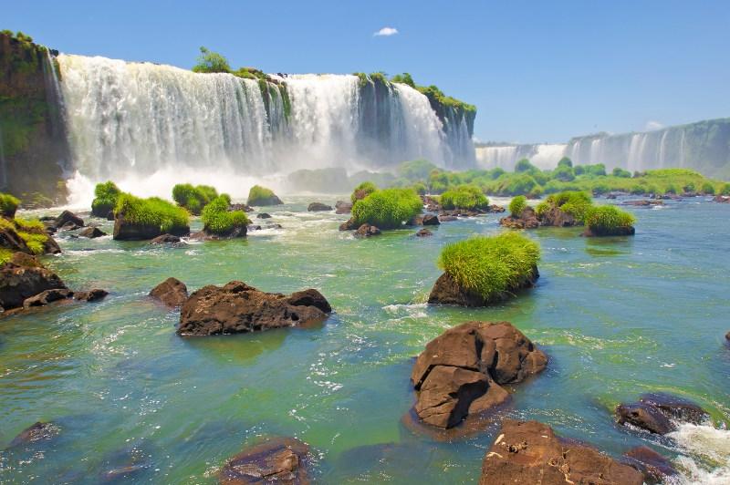 Foz do Iguazu is the Brazilian city on the border of Iguazu Falls.