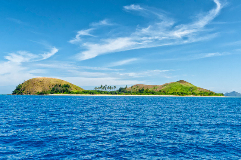 tropical island of Fiji, South Pacific