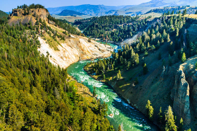 Yellowstone River, USA