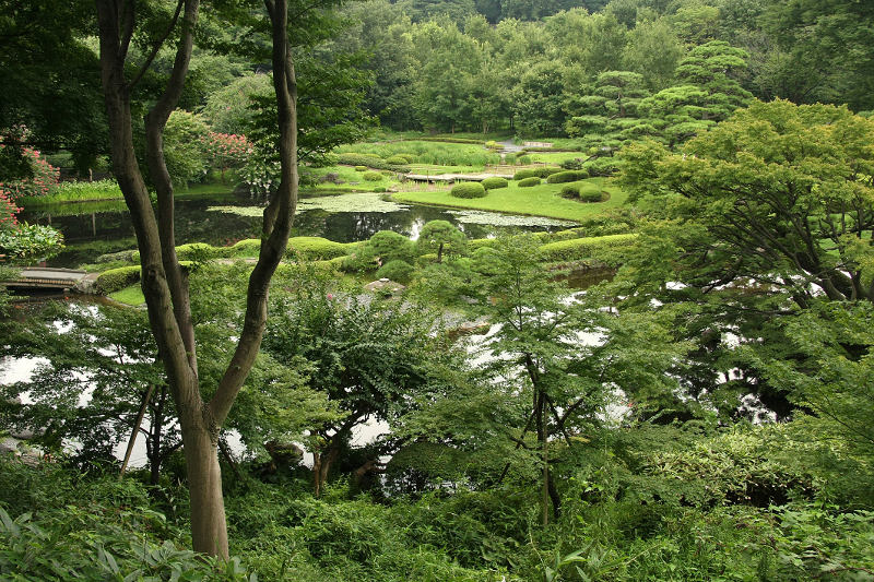 gardens of imperial palace