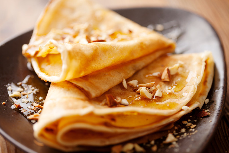 crepes, france