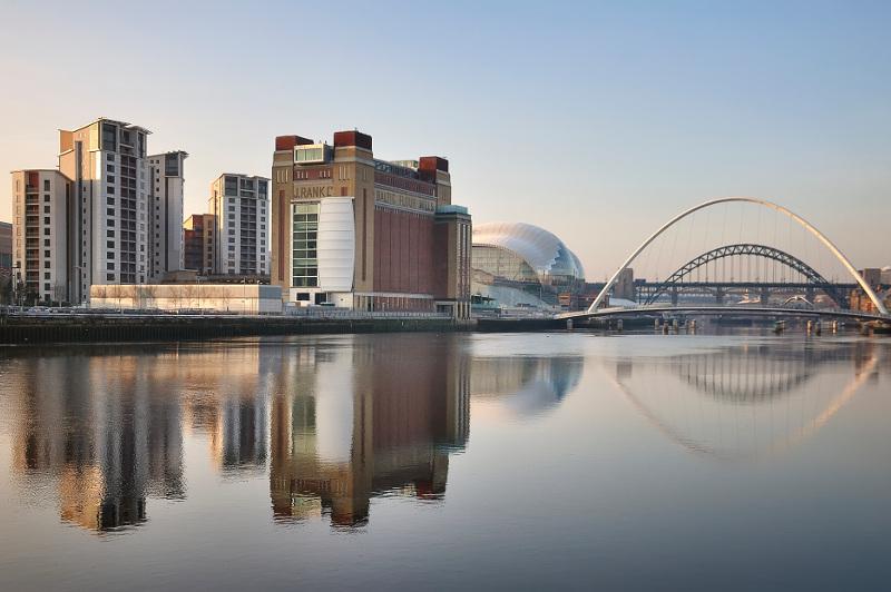 The River Tyne, Newcastle, United Kingdom