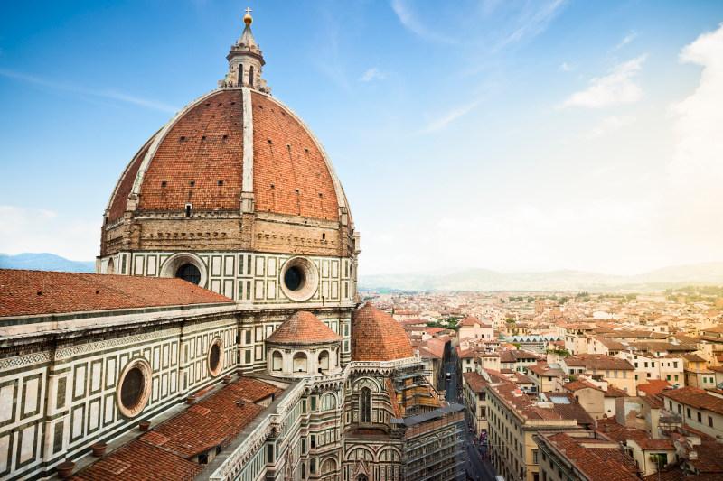 Florence's famous Cattedrale di Santa Maria del Fiore, Italy
