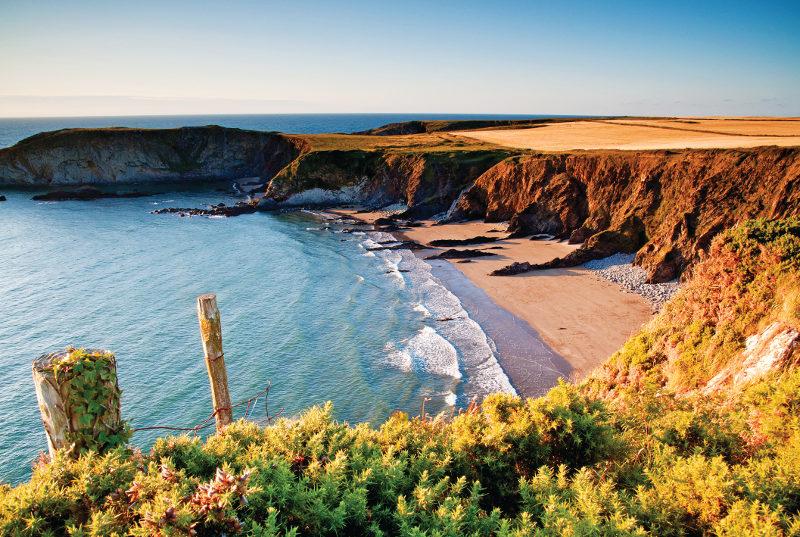 Welsh coastline, United Kingdom