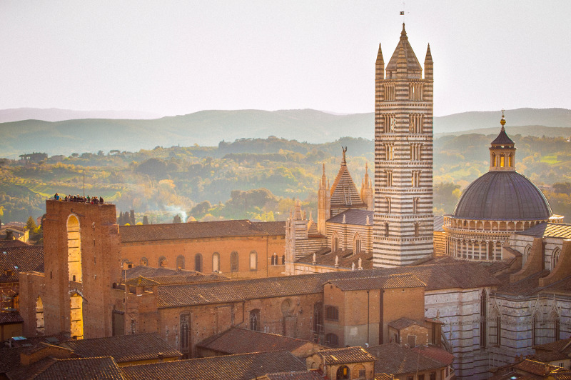 siena italy gothic cathedral