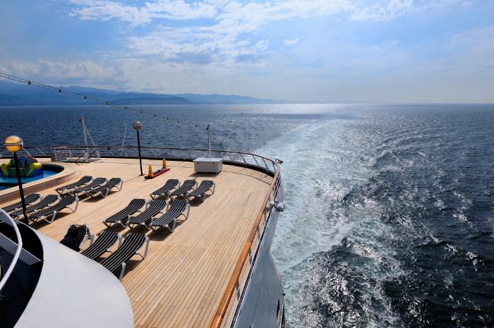 back deck cruise ship