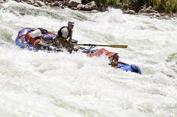 Tackling the mighty Colorado River.