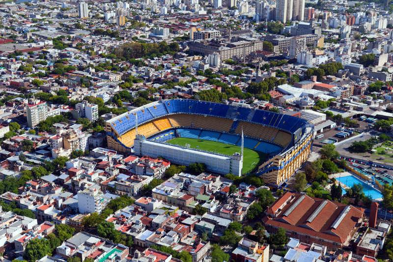 La Bombonera football stadium, Buenos Aires