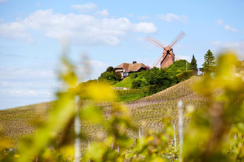 windmill of Verzenay near Reims, France