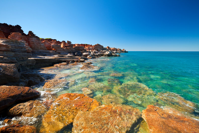 View of Gantheaume Point, Broome, Western Australia