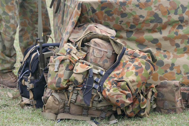 australian army fatigue backpack