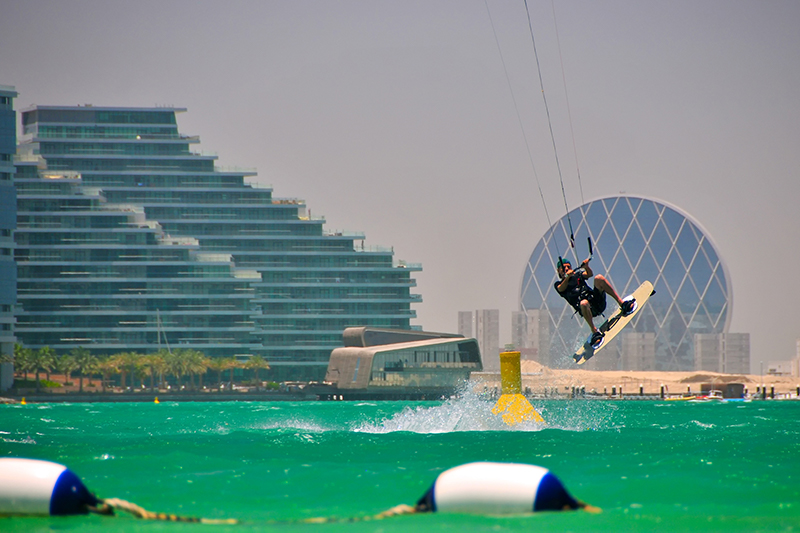 Kite Surfing Abu Dhabi