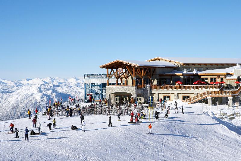 Ski lodge at Whistler, Vancouver