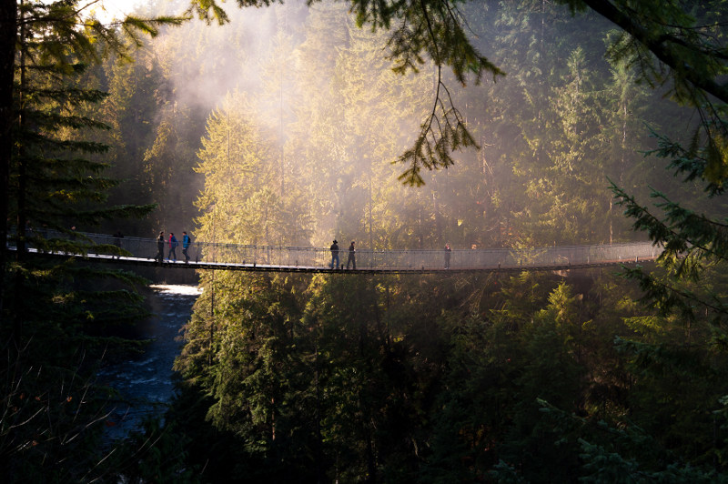 Capilano Suspension Bridge, Vancouver, Canada